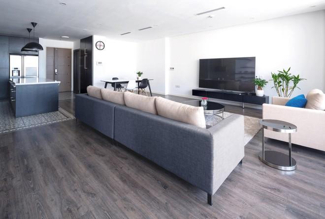 Ngắm căn hộ tối giản nhưng sang trọng và rất dễ ứng dụng cho nhà chung cư ở Cầu Giấy, Hà Nội - Ảnh 1.