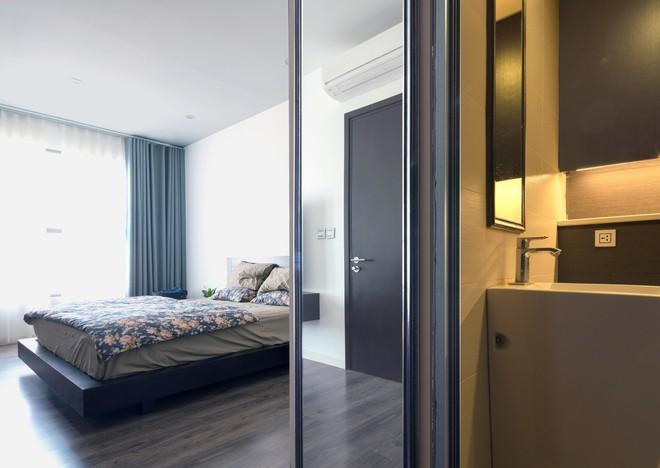 Ngắm căn hộ tối giản nhưng sang trọng và rất dễ ứng dụng cho nhà chung cư ở Cầu Giấy, Hà Nội - Ảnh 7.