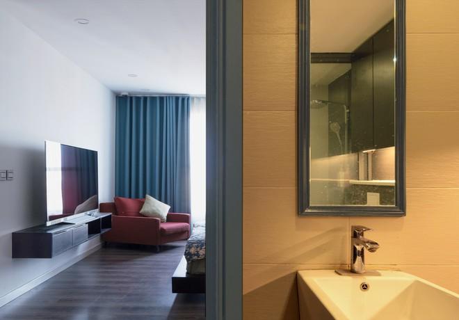 Ngắm căn hộ tối giản nhưng sang trọng và rất dễ ứng dụng cho nhà chung cư ở Cầu Giấy, Hà Nội - Ảnh 8.