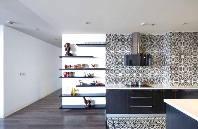 Ngắm căn hộ tối giản nhưng sang trọng và rất dễ ứng dụng cho nhà chung cư ở Cầu Giấy, Hà Nội - Ảnh 4.