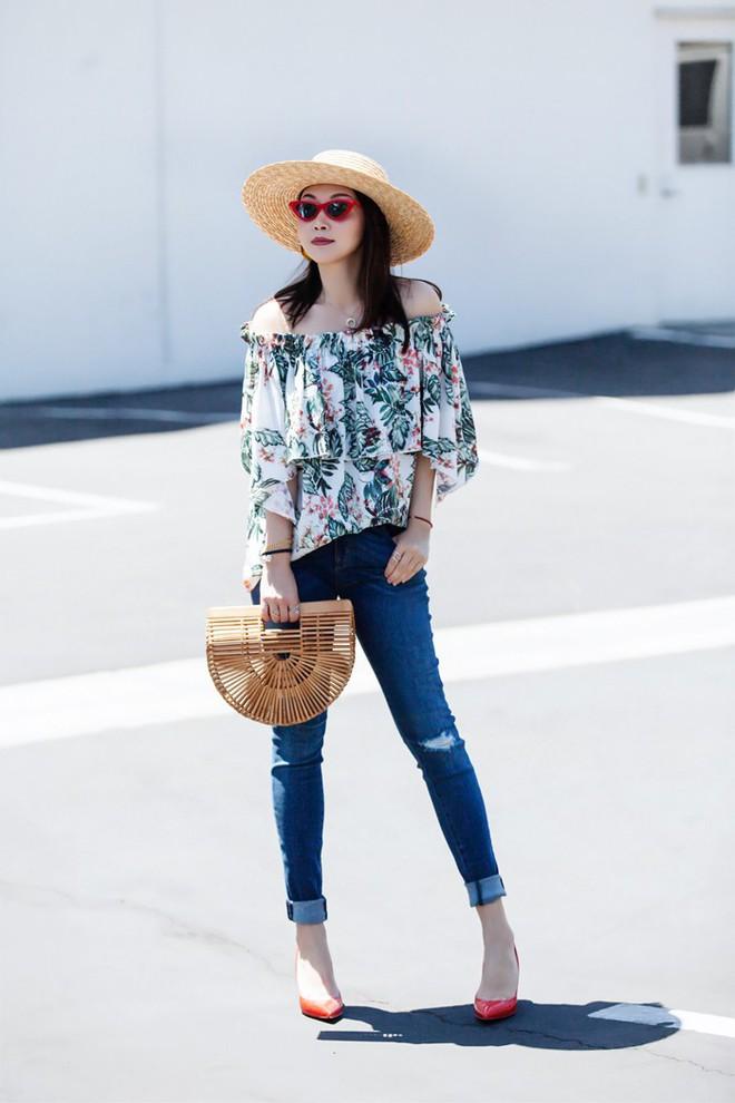 Street style diện toàn màu nền nã ngắm mãi không chán của các quý cô Châu Á - Ảnh 12.