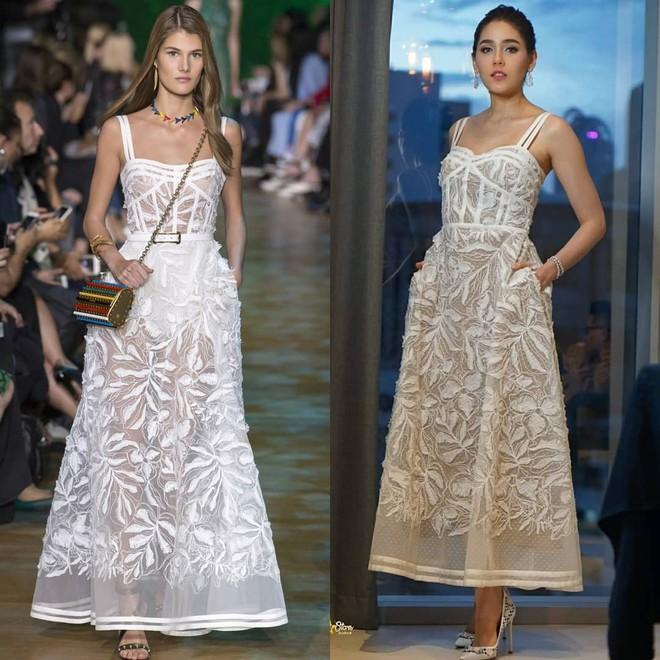 Không chỉ dừng lại ở yêu nữ hàng hiệu mỹ nhân đẹp nhất xứ chùa vàng Chompoo Araya còn mặc đồ hiệu đẹp hơn cả người mẫu trình diễn - Ảnh 3.