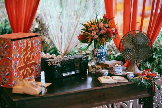 Chàng quản lí của Chi Pu dựng rạp làm đám cưới style ông bà anh vừa chất, vừa vui ngất - Ảnh 1.