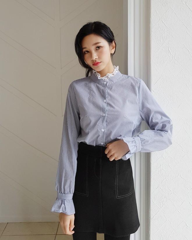 3 cách điệu của áo sơmi và áo blouse đang rất được lòng các nàng điệu đà vào thời điểm này - Ảnh 3.
