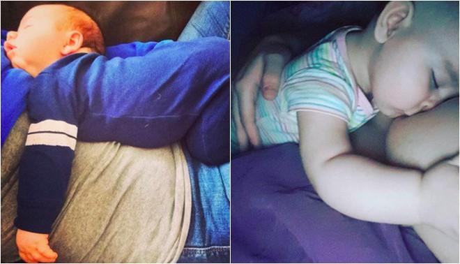 """Cận cảnh khuôn mặt hạnh phúc của những em bé """"phê"""" sữa sau khi bú mẹ - Ảnh 13."""