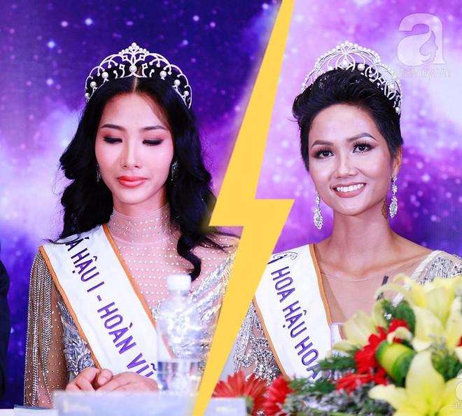 """Hành động """"lạ"""" của Hoàng Thùy sau khi HHen Niê đăng quang ngôi vị Hoa hậu Hoàn vũ Việt Nam 2017 - Ảnh 3."""