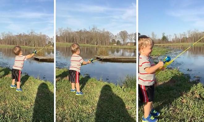 Đưa con đi câu cá, người bố đã có hành động rất thông minh khi dạy con tự lập - Ảnh 3.