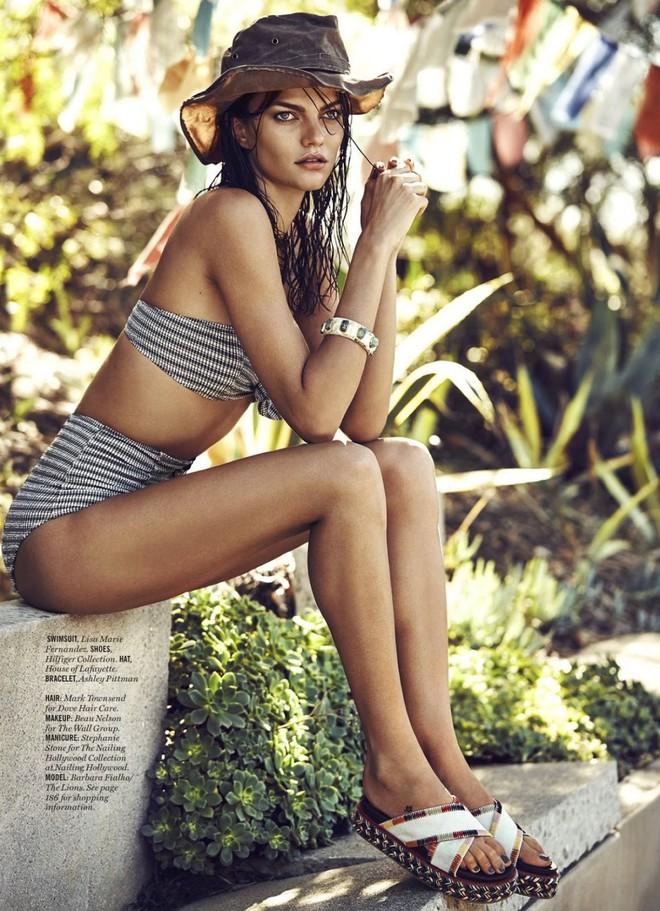 Muốn đẹp như siêu mẫu Barbara Fialho, chị em nên tập tạ theo cách này để giữ dáng - Ảnh 7.