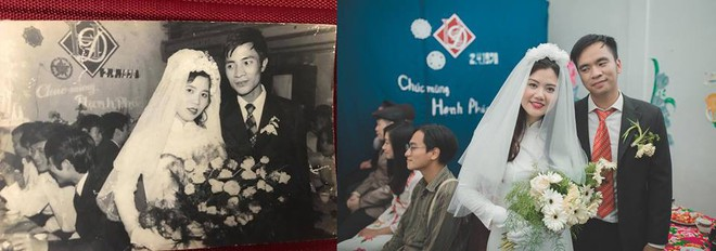 Đôi du học sinh Mỹ dành 6 tháng tái hiện đám cưới năm 1978 và 1992 của bố mẹ - Ảnh 8.