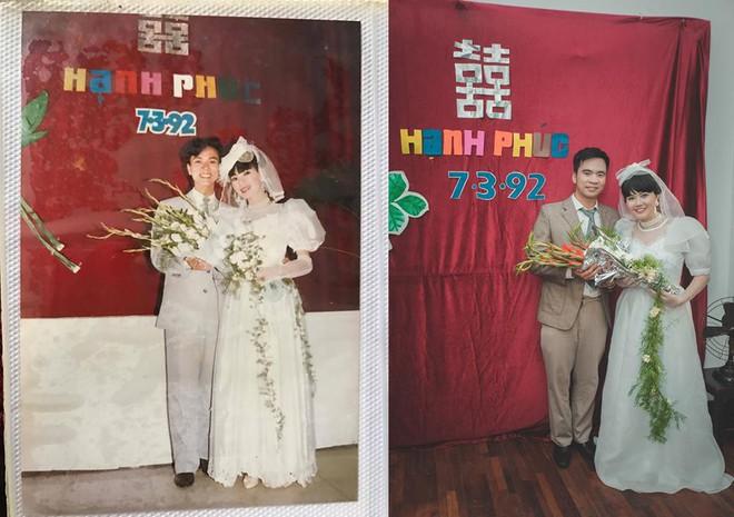 Đôi du học sinh Mỹ dành 6 tháng tái hiện đám cưới năm 1978 và 1992 của bố mẹ - Ảnh 6.
