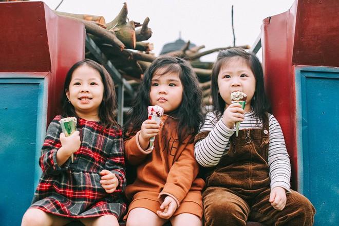 Bộ ba bạn thân Mầm - Mũm - Mon xuất hiện siêu yêu trong bộ ảnh chụp trên cánh đồng hoa cải - Ảnh 17.