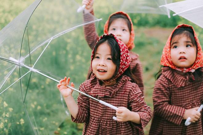 Bộ ba bạn thân Mầm - Mũm - Mon xuất hiện siêu yêu trong bộ ảnh chụp trên cánh đồng hoa cải - Ảnh 26.