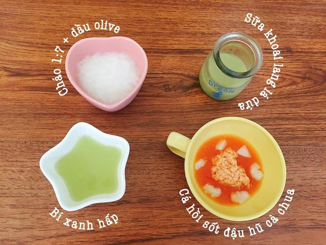 Mẹ đảm 9X chia sẻ thực đơn ăn dặm để bé bữa nào cũng ăn hết sạch sành sanh - Ảnh 5.