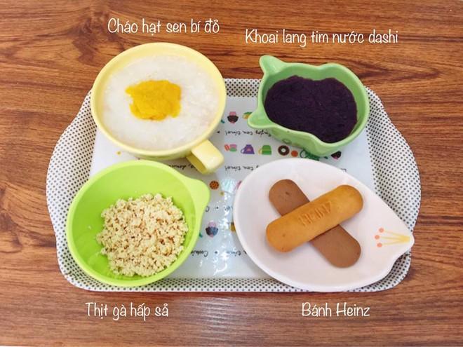 Mẹ đảm 9X chia sẻ thực đơn ăn dặm để bé bữa nào cũng ăn hết sạch sành sanh - Ảnh 9.