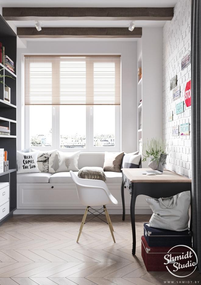 Căn hộ 3 phòng ngủ theo phong cách Scandinavian đẹp hoàn hảo như một bài thơ - Ảnh 12.
