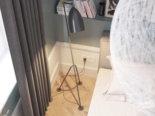 Căn hộ 3 phòng ngủ theo phong cách Scandinavian đẹp hoàn hảo như một bài thơ - Ảnh 21.