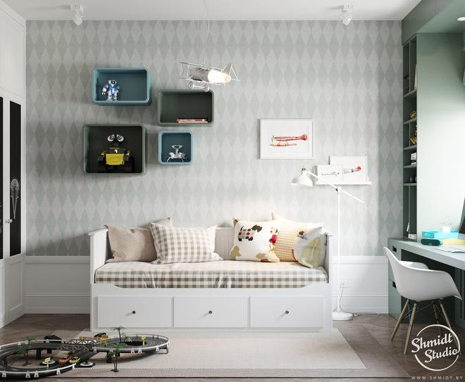 Căn hộ 3 phòng ngủ theo phong cách Scandinavian đẹp hoàn hảo như một bài thơ - Ảnh 26.
