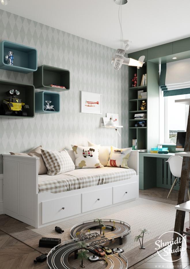 Căn hộ 3 phòng ngủ theo phong cách Scandinavian đẹp hoàn hảo như một bài thơ - Ảnh 28.