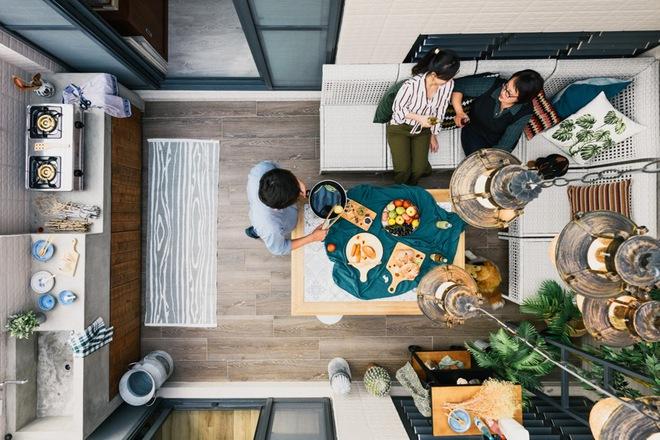 Ngôi nhà 36m² vừa đẹp vừa tiện ích chuẩn không cần chỉnh dành cho gia đình có nhiều thế hệ - Ảnh 24.