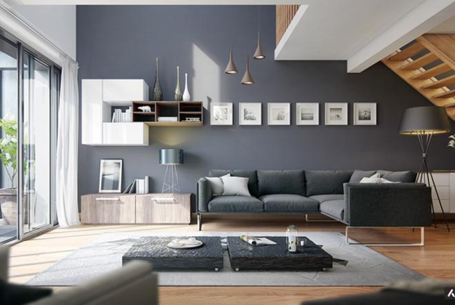 Những cách trang trí phòng khách bạn cần tham khảo khi chỉ còn 1 tháng nữa là Tết - Ảnh 2.