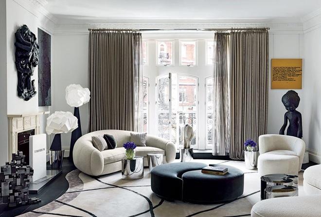 Những cách trang trí phòng khách bạn cần tham khảo khi chỉ còn 1 tháng nữa là Tết - Ảnh 7.