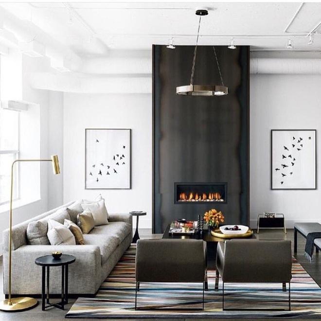 Những cách trang trí phòng khách bạn cần tham khảo khi chỉ còn 1 tháng nữa là Tết - Ảnh 10.