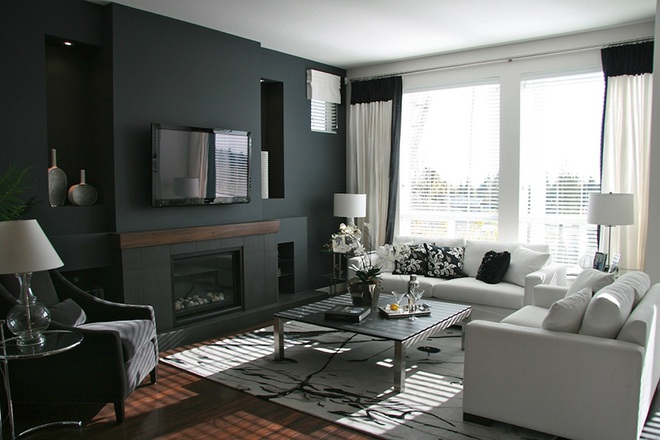 Những cách trang trí phòng khách bạn cần tham khảo khi chỉ còn 1 tháng nữa là Tết - Ảnh 11.