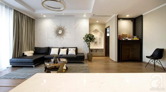 Chi 300 triệu đồng cải tạo trong vòng 45 ngày, căn hộ 126m² ở Hà Nội lột xác đẹp đến bất ngờ - Ảnh 6.