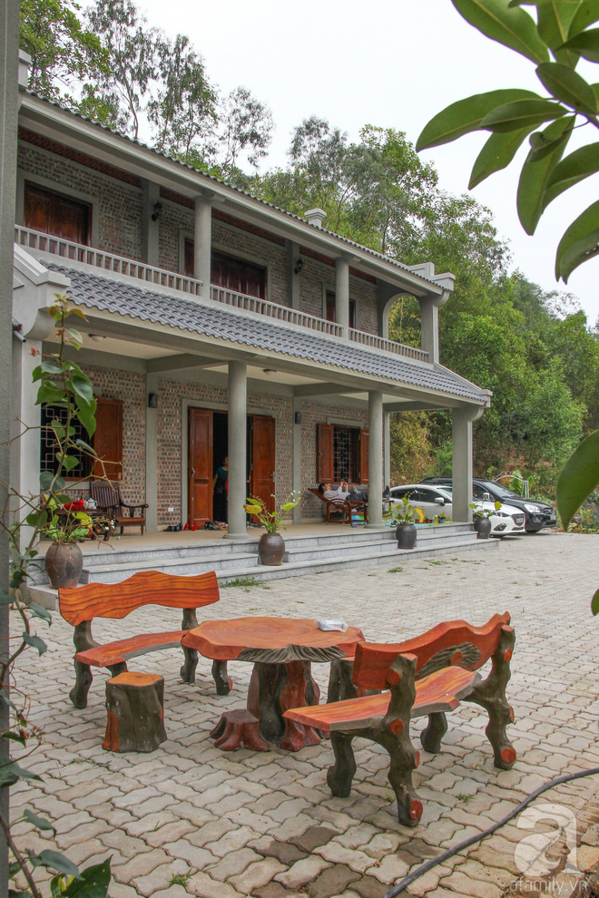 Ngôi nhà vườn hoài cổ với mái nhuốm màu thời gian bình yên giữa núi đồi Bắc Ninh - Ảnh 7.