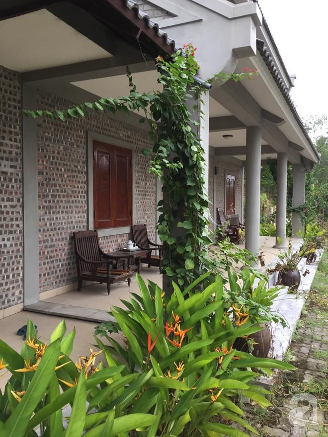 Ngôi nhà vườn hoài cổ với mái nhuốm màu thời gian bình yên giữa núi đồi Bắc Ninh - Ảnh 8.