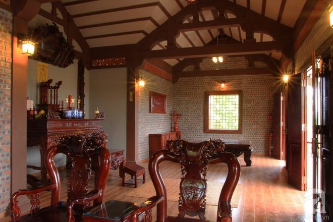 Ngôi nhà vườn hoài cổ với mái nhuốm màu thời gian bình yên giữa núi đồi Bắc Ninh - Ảnh 13.