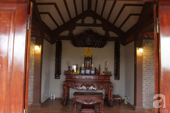 Ngôi nhà vườn hoài cổ với mái nhuốm màu thời gian bình yên giữa núi đồi Bắc Ninh - Ảnh 15.
