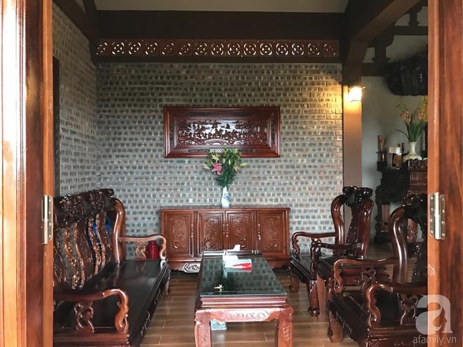 Ngôi nhà vườn hoài cổ với mái nhuốm màu thời gian bình yên giữa núi đồi Bắc Ninh - Ảnh 21.
