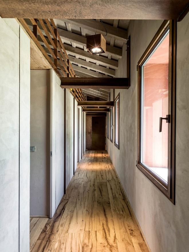 Ngôi nhà 450m² ở vùng quê được bao quanh bởi cây xanh tươi tốt khiến ai nhìn thấy cũng thích - Ảnh 2.