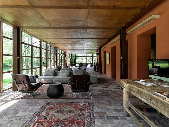 Ngôi nhà 450m² ở vùng quê được bao quanh bởi cây xanh tươi tốt khiến ai nhìn thấy cũng thích - Ảnh 7.