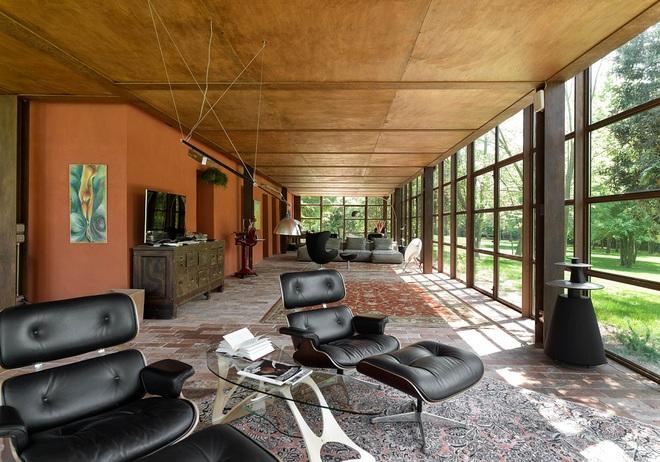Ngôi nhà 450m² ở vùng quê được bao quanh bởi cây xanh tươi tốt khiến ai nhìn thấy cũng thích - Ảnh 10.
