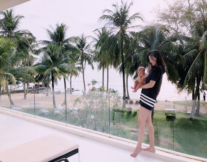 Thanh Trang - MC xinh đẹp của Café sáng chia sẻ kinh nghiệm về dáng sau sinh tức thì - Ảnh 2.