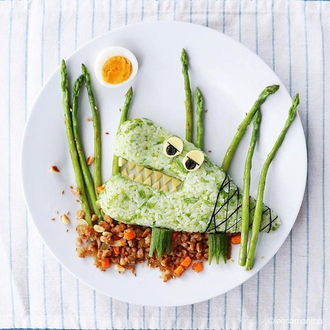Để con hết kén ăn, bà mẹ khéo tay đã biến bữa ăn thành kiệt tác nghệ thuật - Ảnh 27.