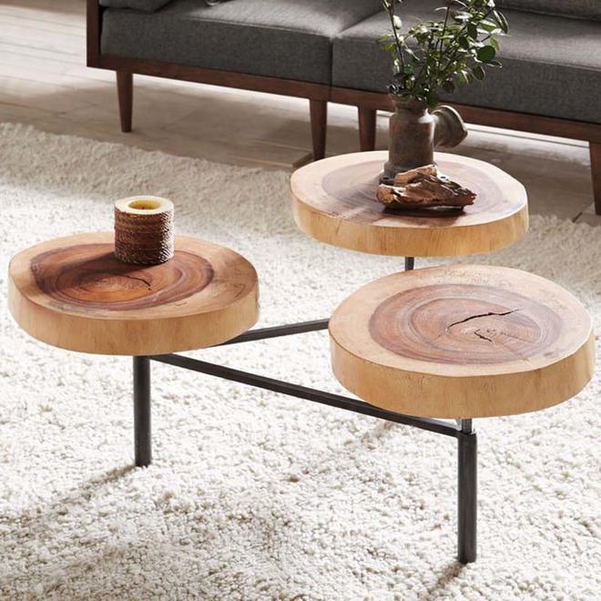 Nếu sợ phòng khách chưa đủ lôi cuốn thì nhanh tay chọn ngay những mẫu bàn trà dưới đây - Ảnh 2.