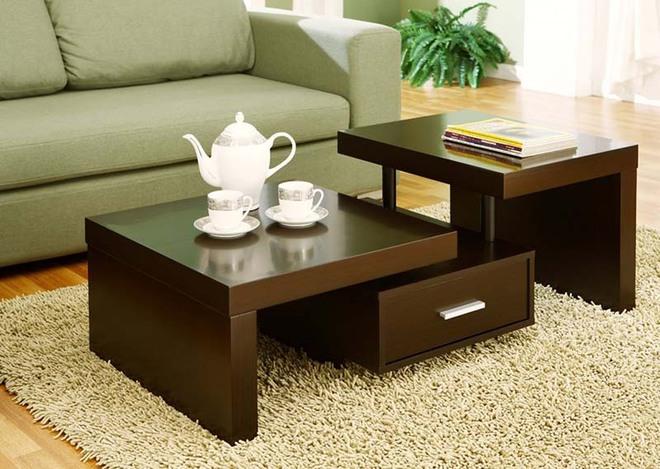 Nếu sợ phòng khách chưa đủ lôi cuốn thì nhanh tay chọn ngay những mẫu bàn trà dưới đây - Ảnh 3.