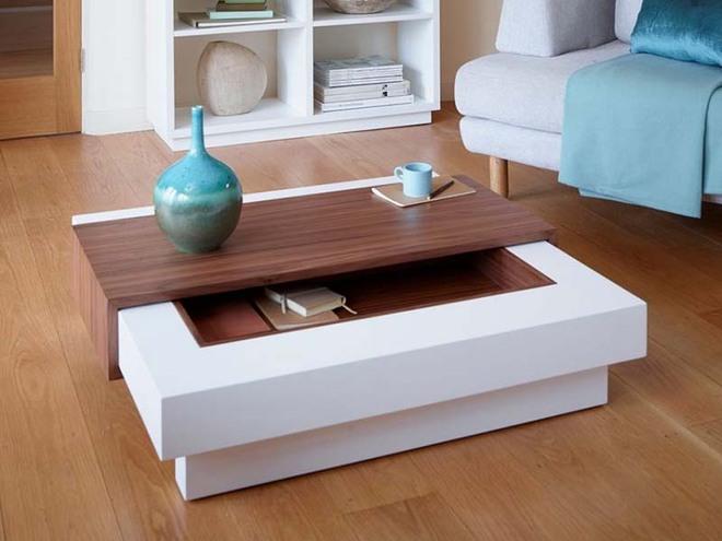 Nếu sợ phòng khách chưa đủ lôi cuốn thì nhanh tay chọn ngay những mẫu bàn trà dưới đây - Ảnh 6.