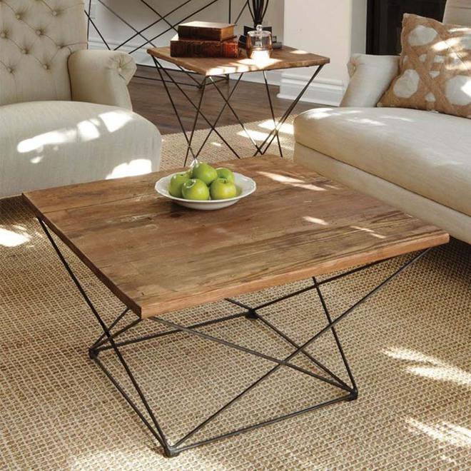 Nếu sợ phòng khách chưa đủ lôi cuốn thì nhanh tay chọn ngay những mẫu bàn trà dưới đây - Ảnh 9.