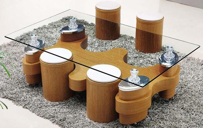 Nếu sợ phòng khách chưa đủ lôi cuốn thì nhanh tay chọn ngay những mẫu bàn trà dưới đây - Ảnh 10.