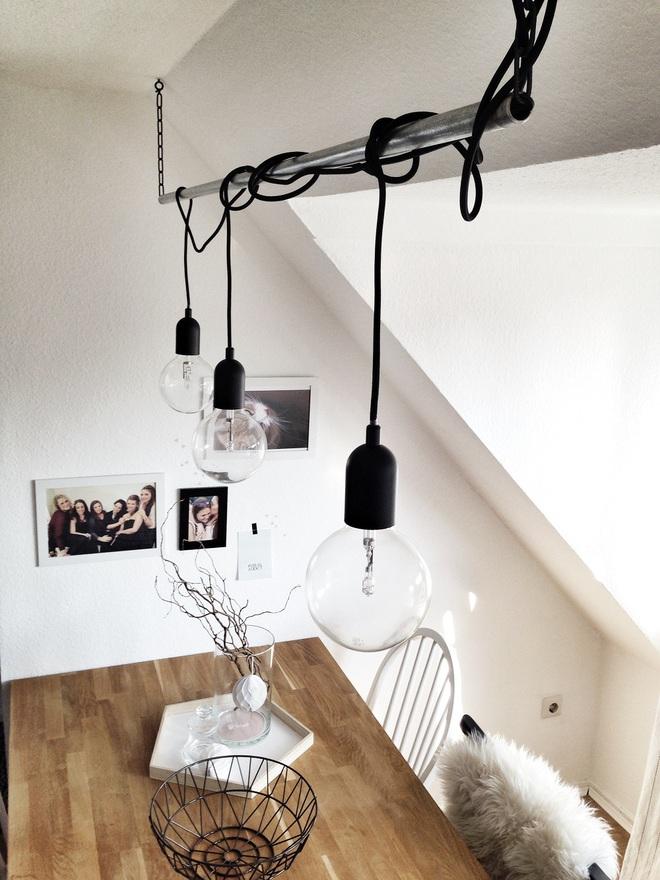 3 cách trang trí nhà bằng bóng đèn chiếu cực chất dành cho những người phong cách - Ảnh 4.