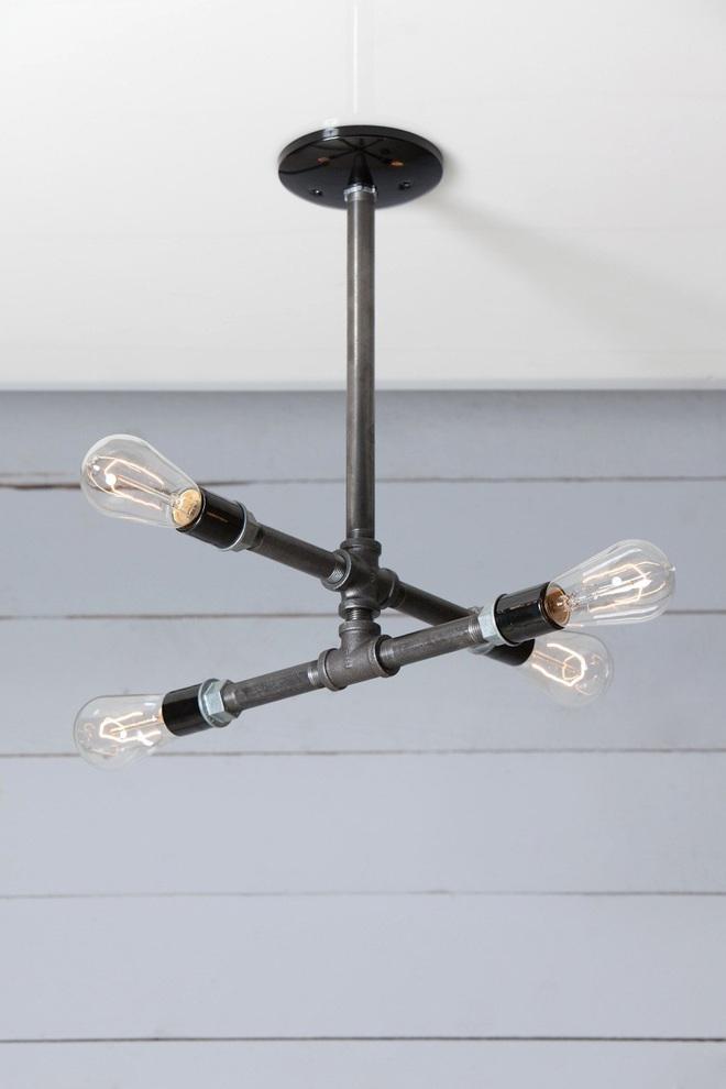 3 cách trang trí nhà bằng bóng đèn chiếu cực chất dành cho những người phong cách - Ảnh 6.