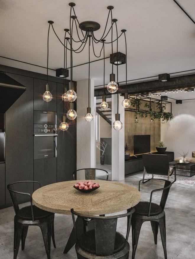3 cách trang trí nhà bằng bóng đèn chiếu cực chất dành cho những người phong cách - Ảnh 7.