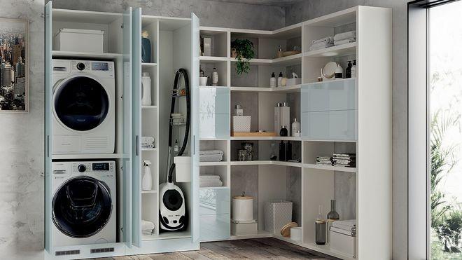 Ý tưởng mới chất lừ cho việc kết hợp phòng tắm và phòng giặt là thành không gian 2 trong 1 - Ảnh 2.