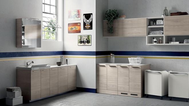 Ý tưởng mới chất lừ cho việc kết hợp phòng tắm và phòng giặt là thành không gian 2 trong 1 - Ảnh 5.