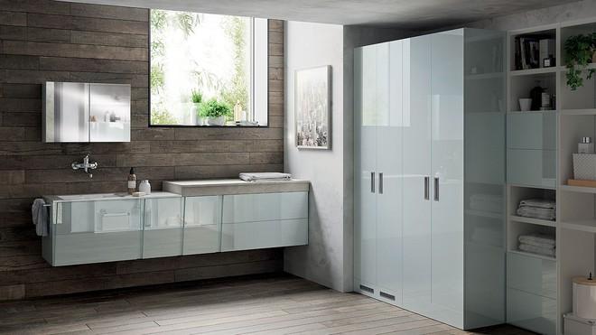 Ý tưởng mới chất lừ cho việc kết hợp phòng tắm và phòng giặt là thành không gian 2 trong 1 - Ảnh 7.