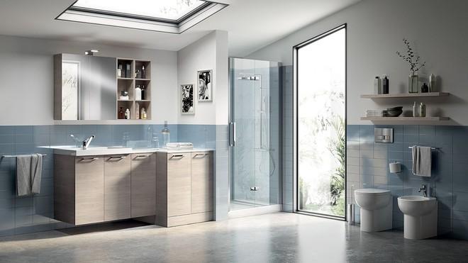 Ý tưởng mới chất lừ cho việc kết hợp phòng tắm và phòng giặt là thành không gian 2 trong 1 - Ảnh 8.